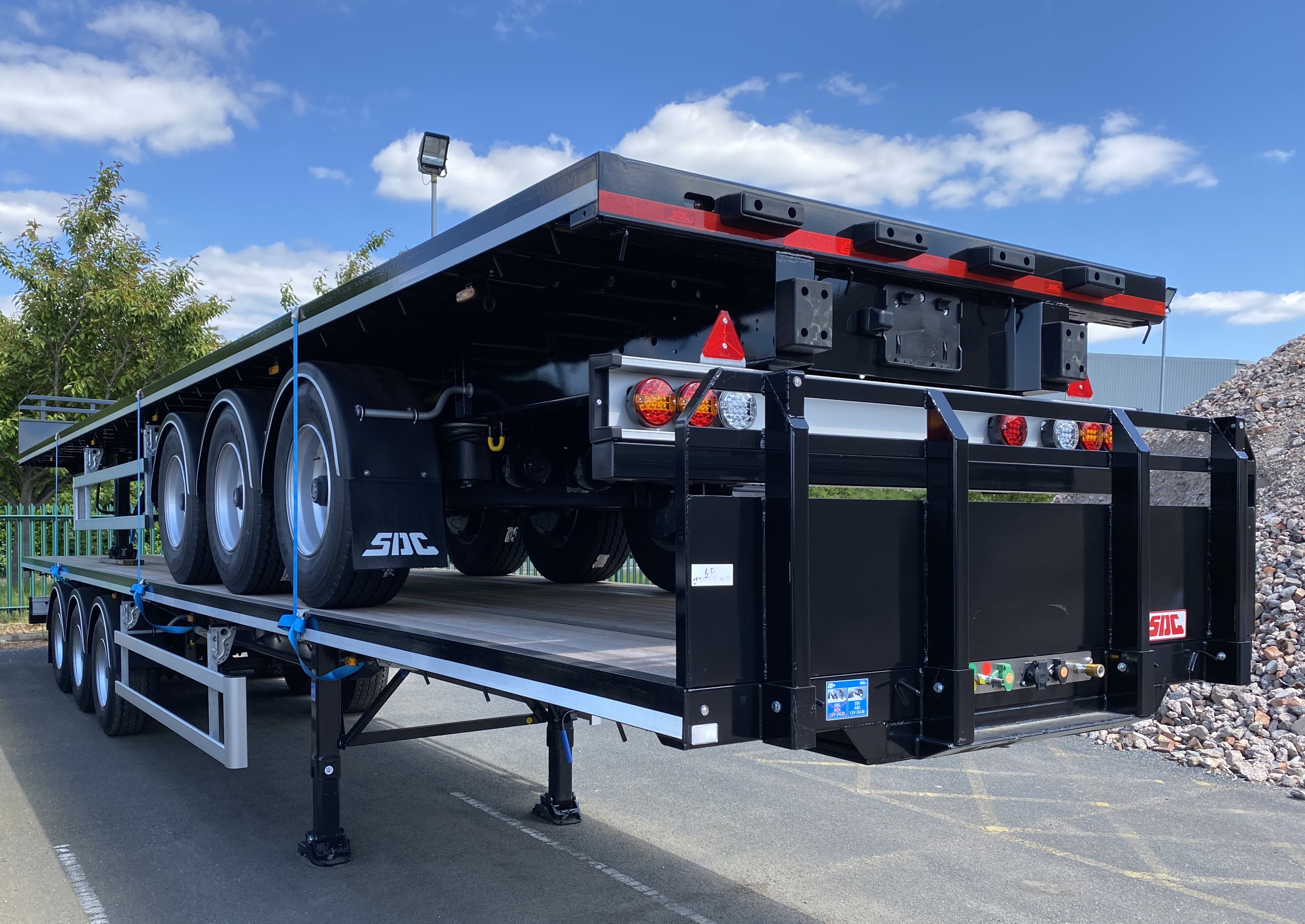 45Ft SDC Flat Trailer