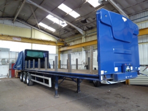 Coil Carrier HGV Trailer Hire Image